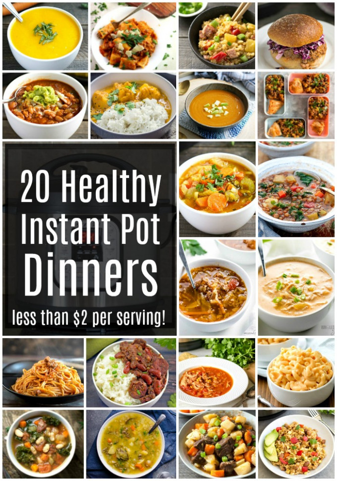 The Best Healthy Instant Pot Recipes When You're On A Budget - Recipes Easy Healthy Cheap