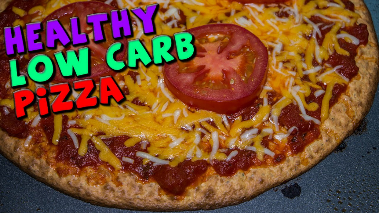 The Best Healthy LOW CARB Pizza Recipe (High Protein ..