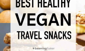 The Best Healthy Vegan Travel Snacks (Recipes, Tips & More ...