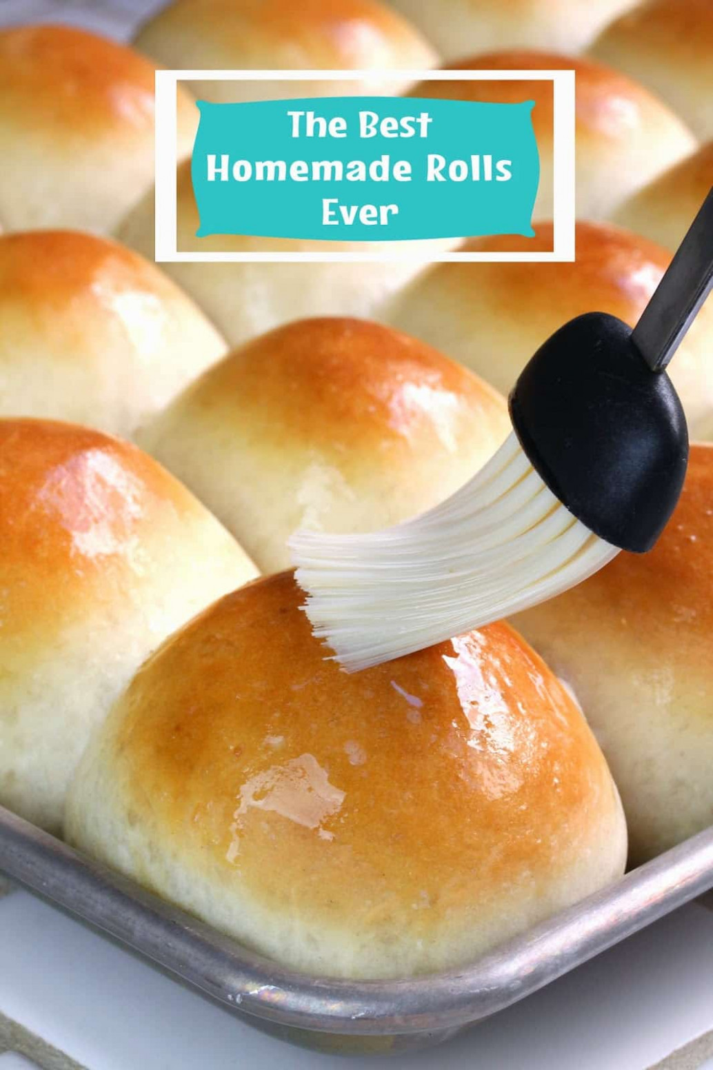 The Best Homemade Dinner Rolls Ever! - recipes homemade dinner rolls
