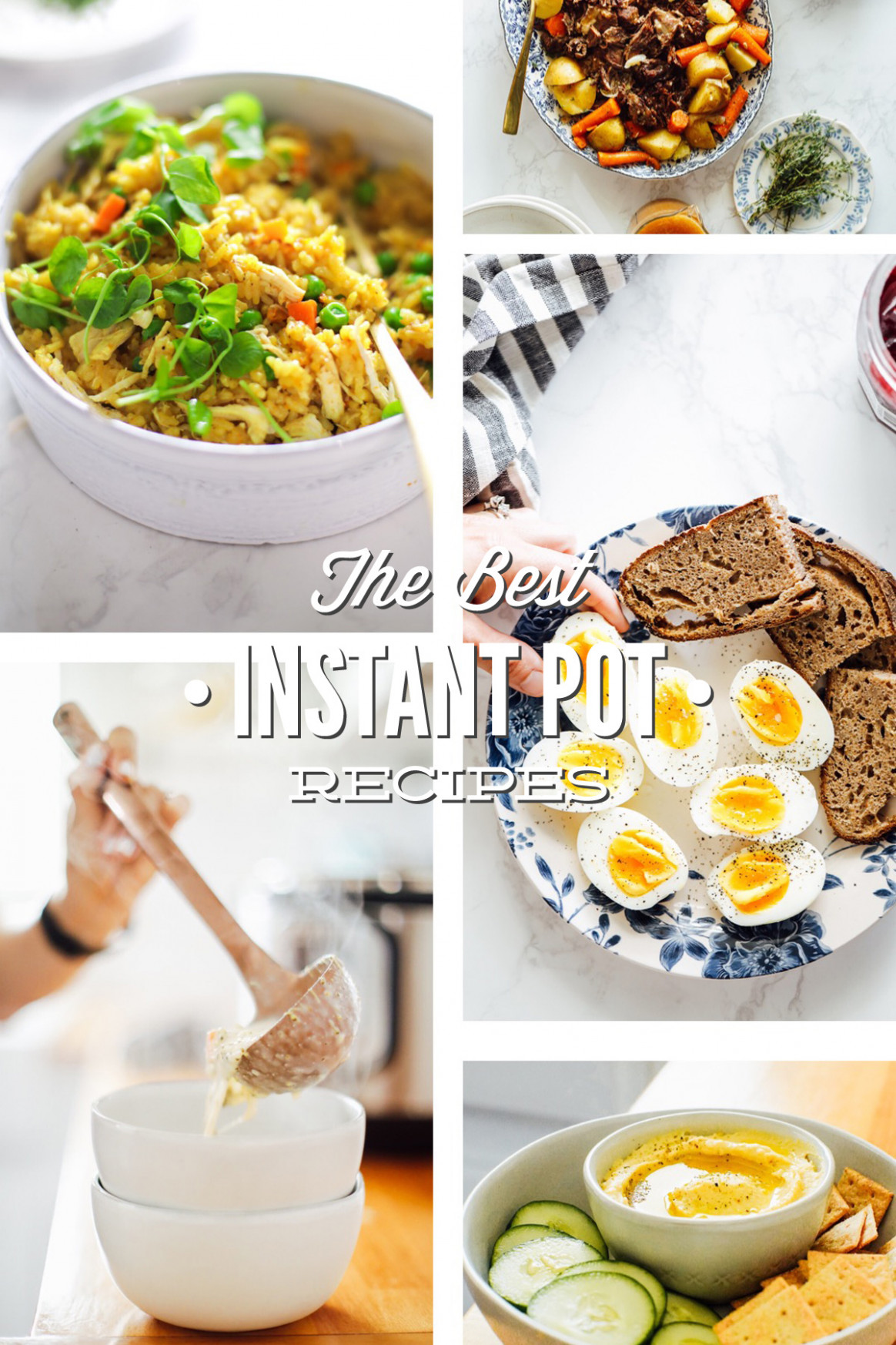 The Best Instant Pot Recipes (Healthy, Real Food) - Live Simply - recipes instant pot healthy
