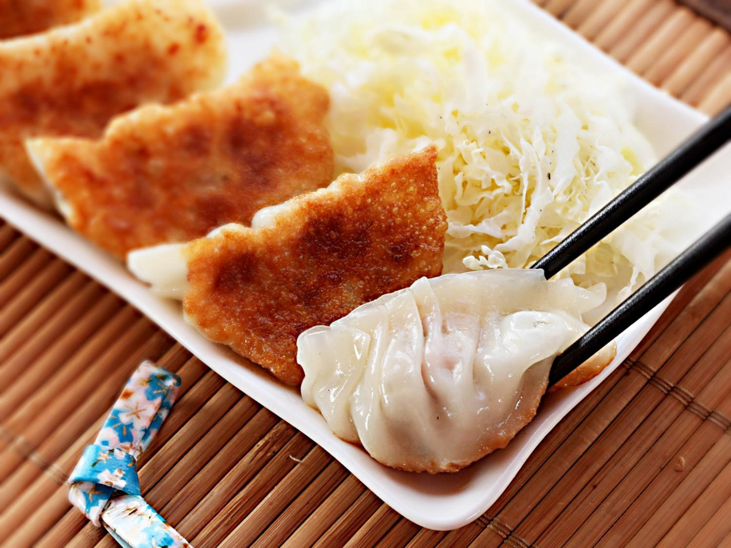 The Best Japanese Pork and Cabbage Dumplings (Gyoza ..