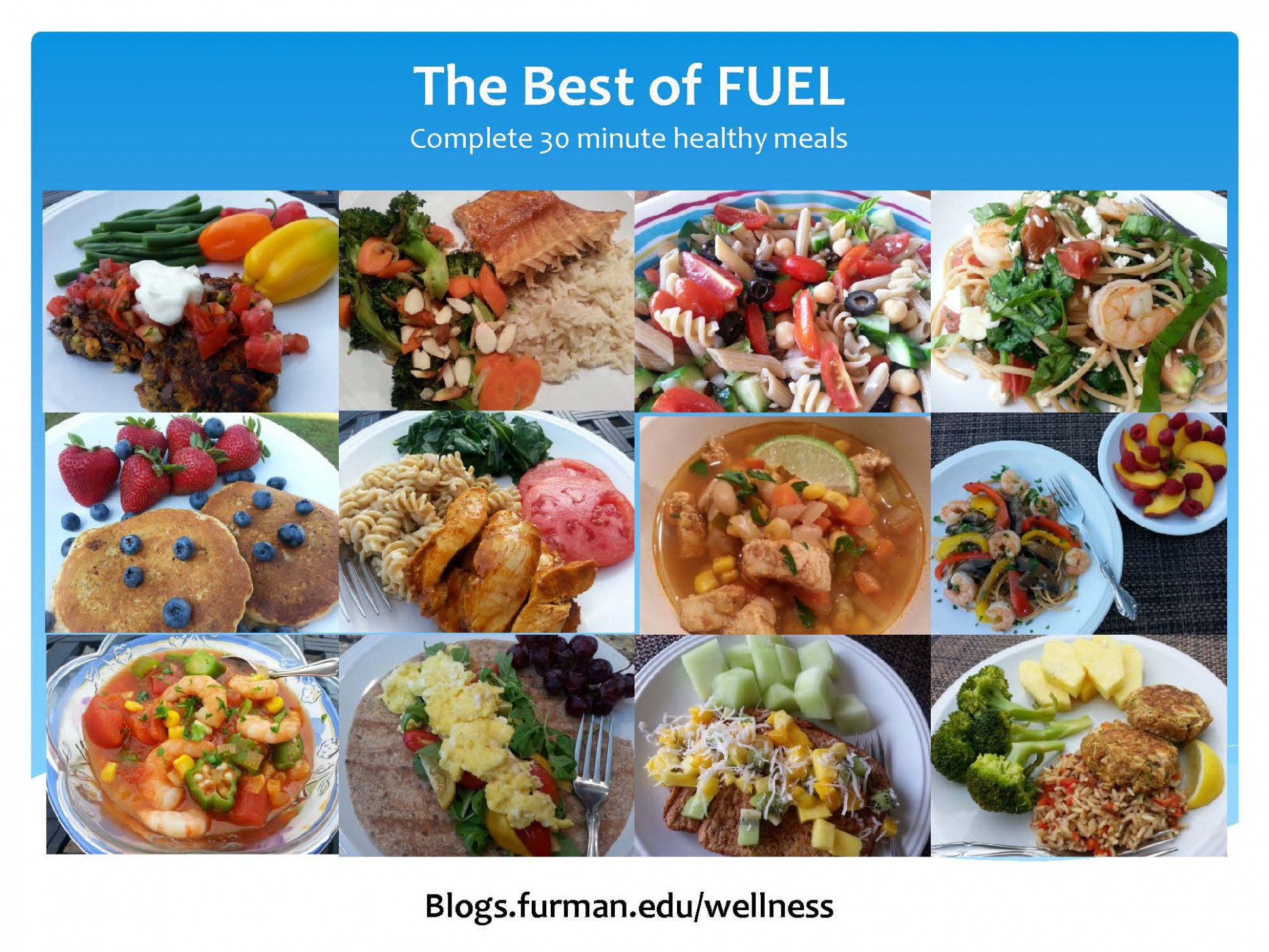 The Best Of FUEL– Complete, Healthy 14 Minute Meals | Live ..