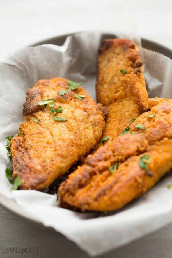 The BEST Oven Fried Chicken Recipe (Baked Fried Chicken ..