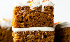 The Best Pumpkin Bars I've Ever Had | Sally's Baking Addiction – Recipes Canned Pumpkin Healthy