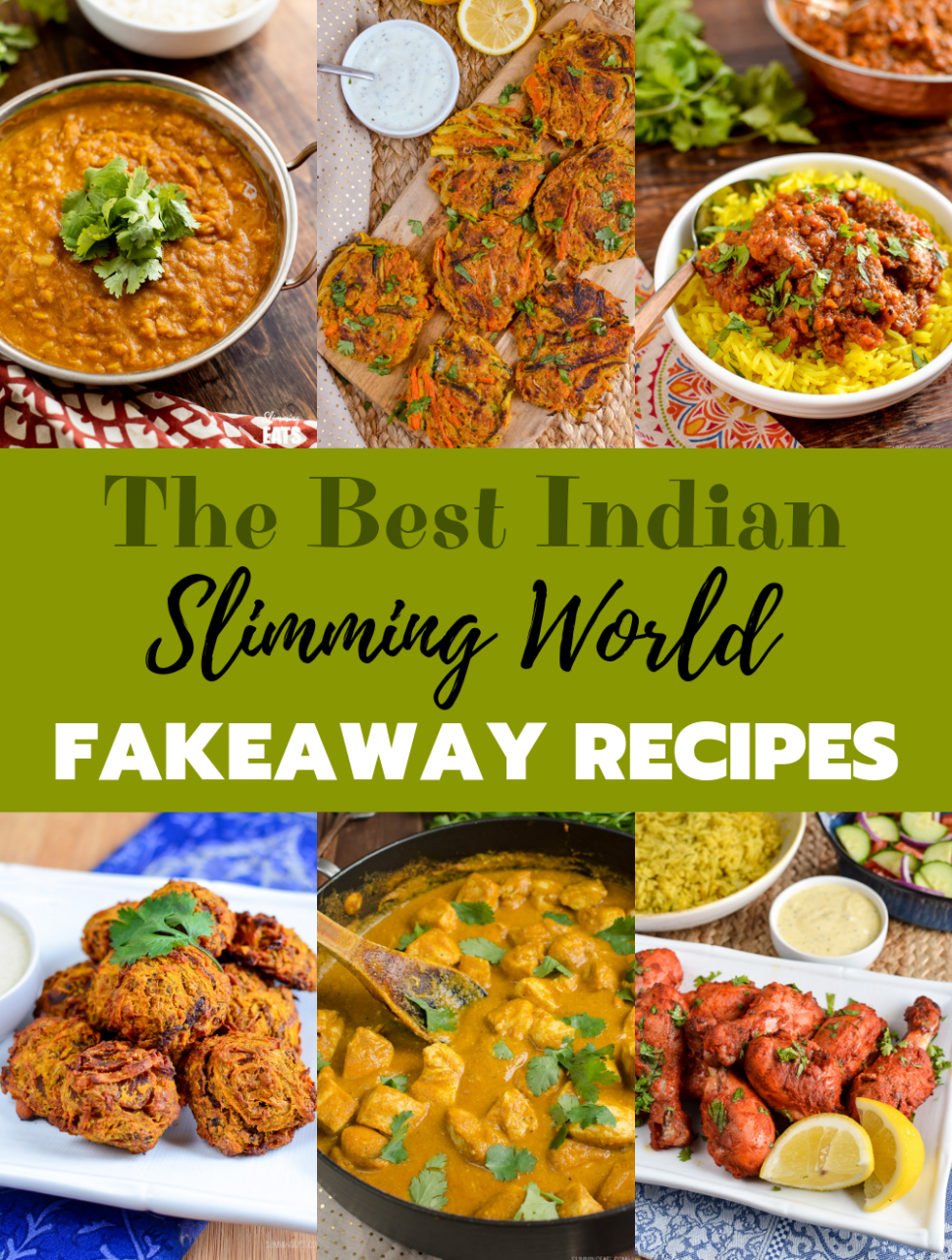 The Best Slimming World Indian Fakeaway Recipes | Slimming Eats - healthy recipes slimming world