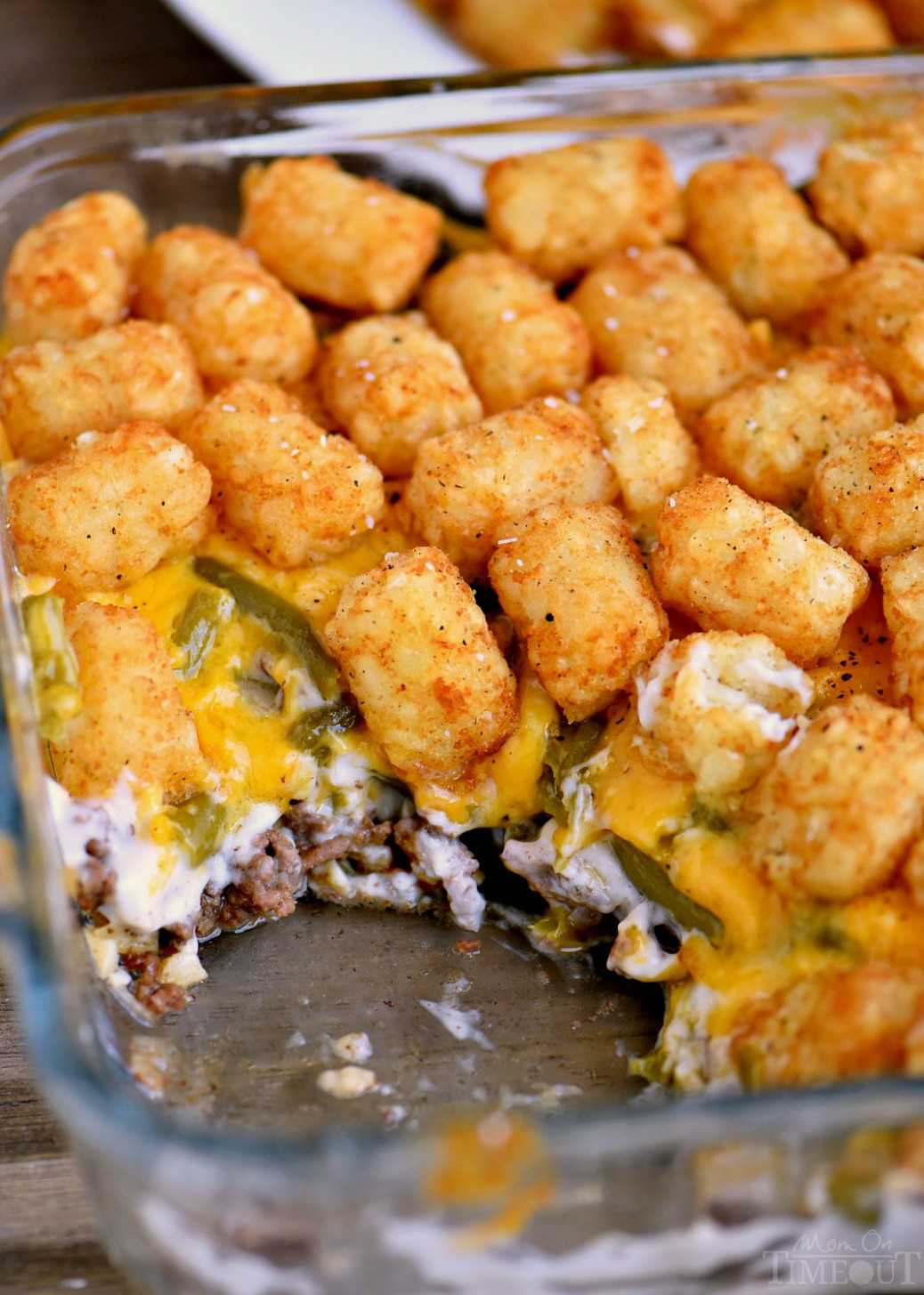 The BEST Tater Tot Casserole - dinner recipes using ground beef