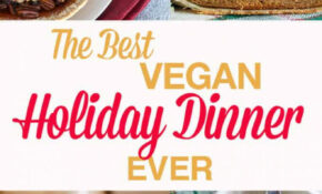 The BEST Vegan Holiday Dinner EVER | The Edgy Veg