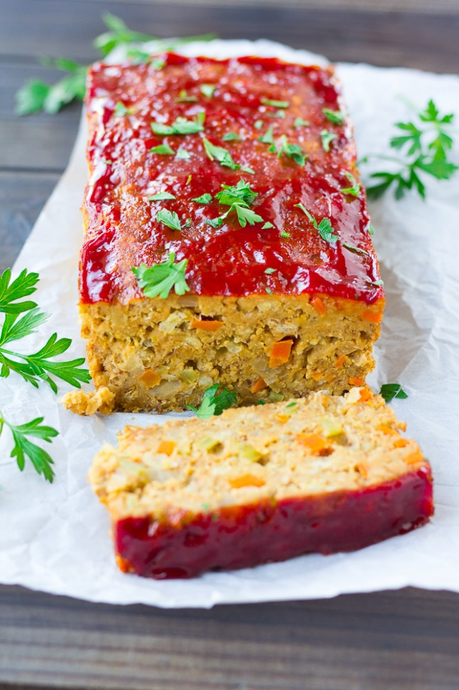 The Best Vegan Meatloaf - Nora Cooks - recipe vegetarian meatloaf