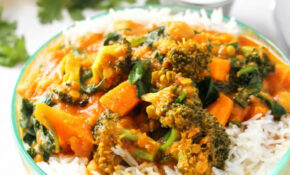 The Best Vegetable Curry Ever – Layers Of Happiness – Healthy Recipes Vegetarian Indian