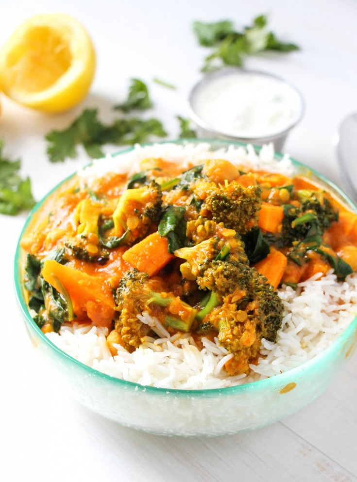 The Best Vegetable Curry Ever - Layers of Happiness - healthy recipes vegetarian indian