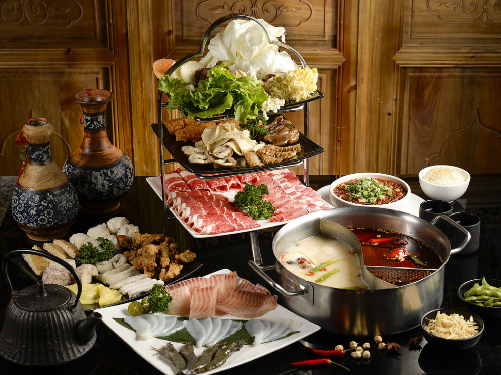 The Buffet - Steamboat Buffet Dinner - healthy yam recipes