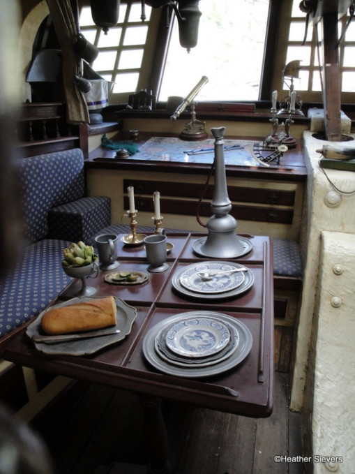 The Captain's Dining Quarters Columbia Sailing Ship - recipes epcot food wine festival
