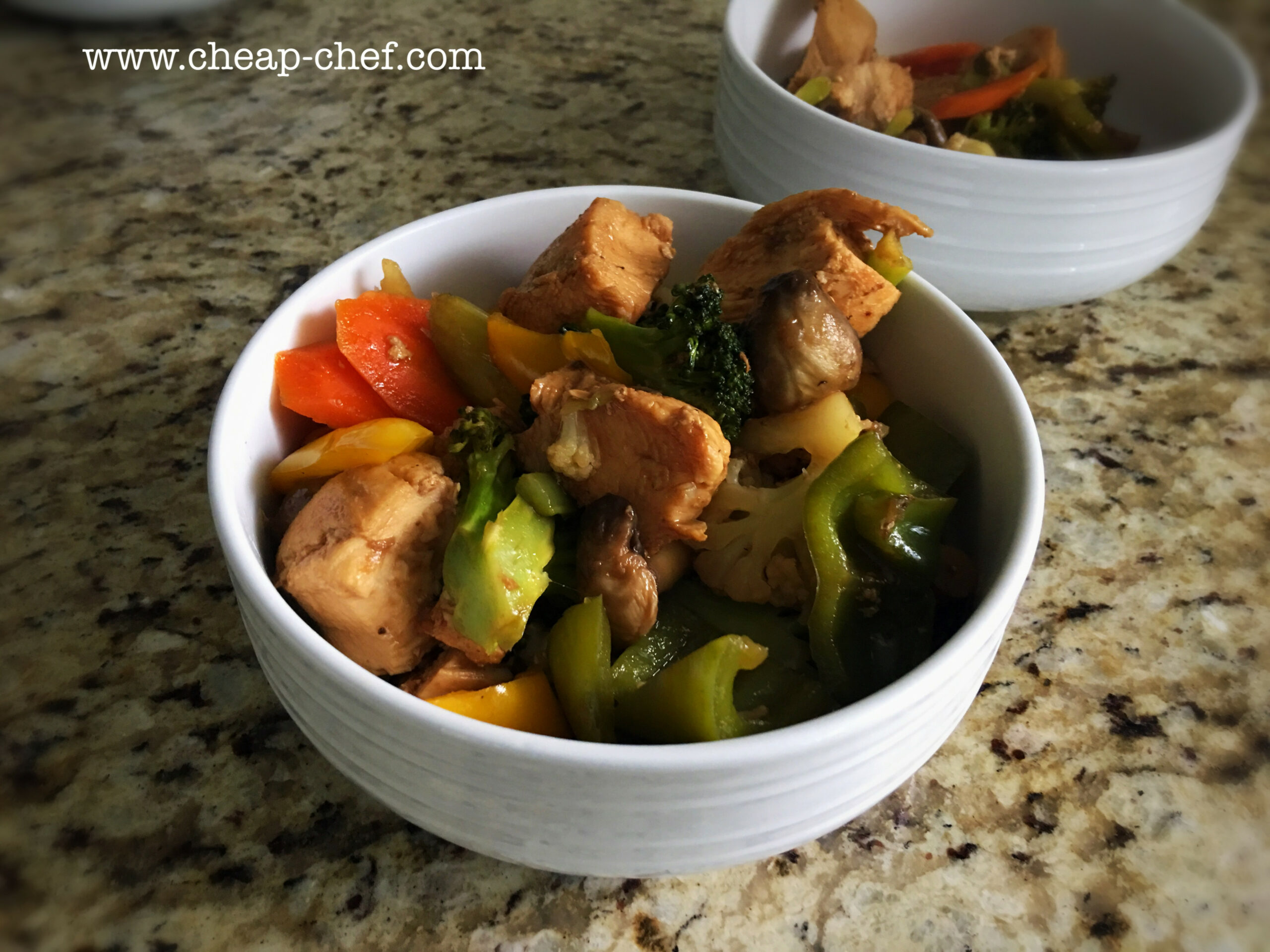 The Cheap Chef - Cheap and Easy Chicken Stir Fry - chicken recipes cheap