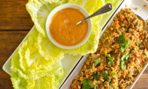 The Chubby Vegetarian: Veggie Packed Napa Cabbage Wraps ..