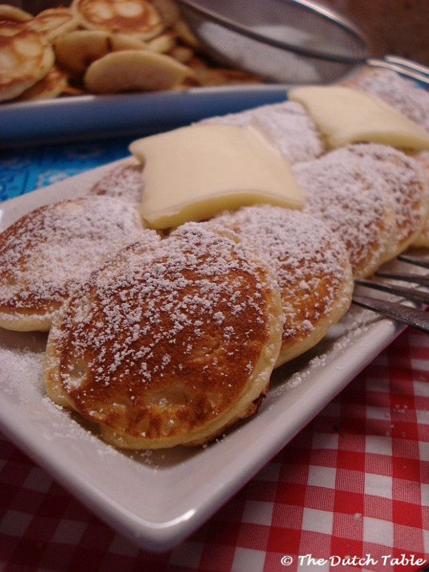 The Dutch Table: Poffertjes - dutch food recipes
