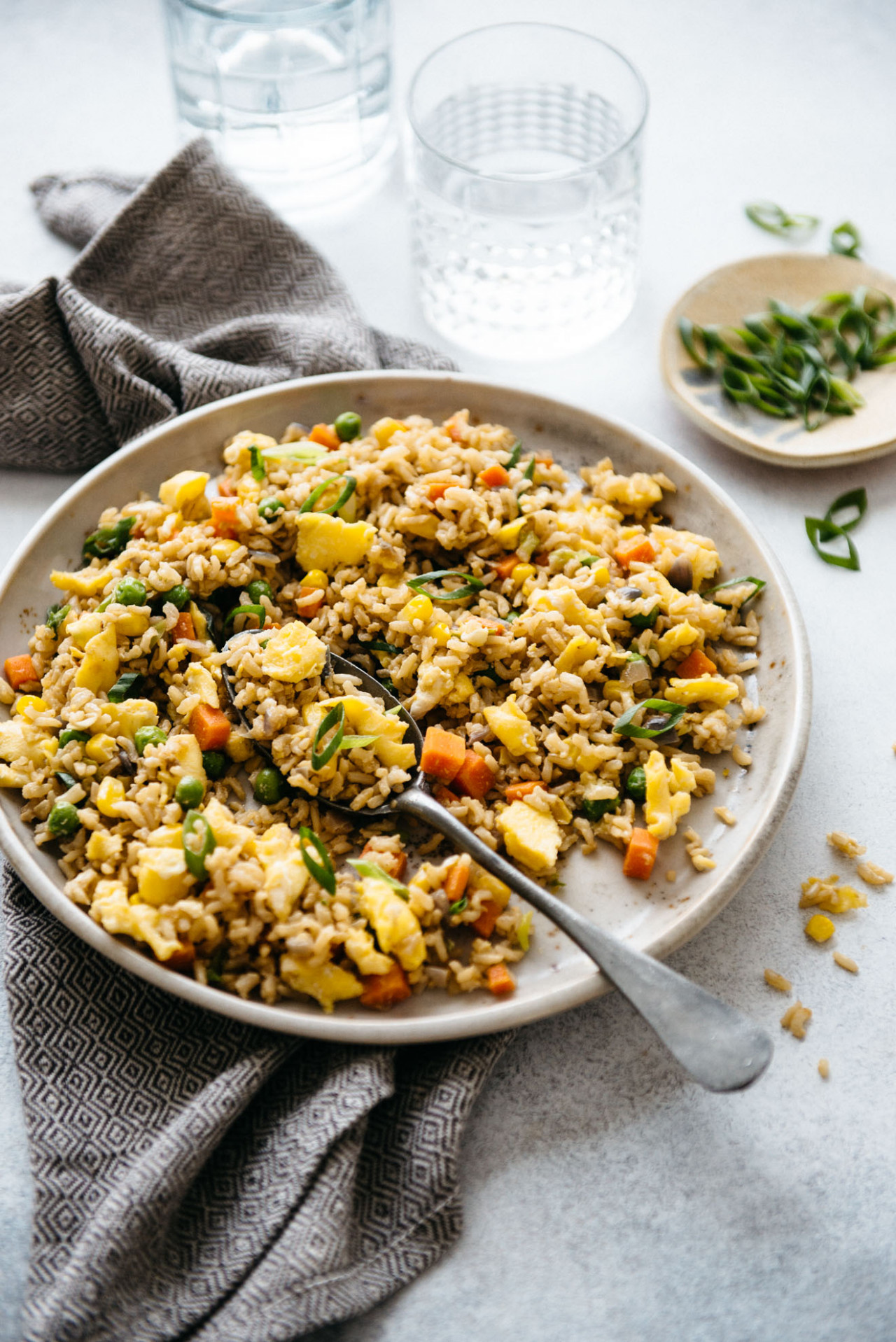 The Easiest Egg Fried Rice (13 Minutes)   Healthy Nibbles - Recipes Dinner Eggs