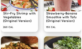 The Free Nutritional Coaching App, To Slim Down Without Diet – Recipes Eating Healthy