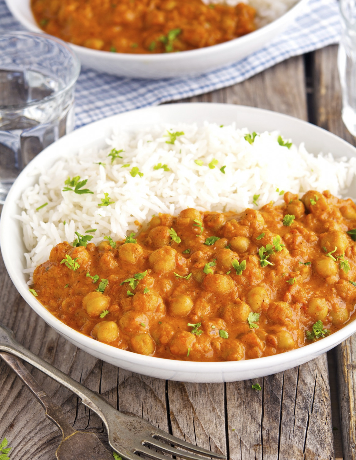 The Iron You: (Vegan) Easy Chickpea Tikka Masala - recipes dinner vegetarian indian