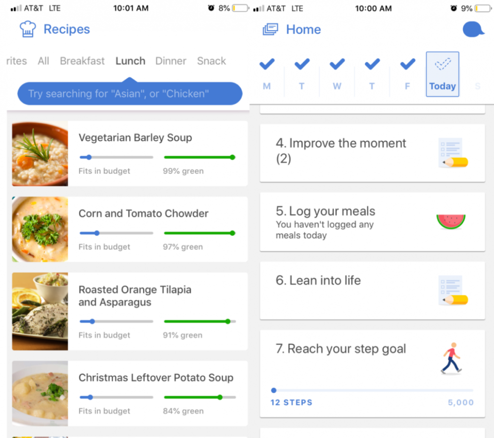 The Noom Weight Loss App Changed My Life - WholeFoodFlow - noom recipes dinner