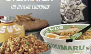 The Official Overwatch Cookbook Goes Up For Pre Order At ..