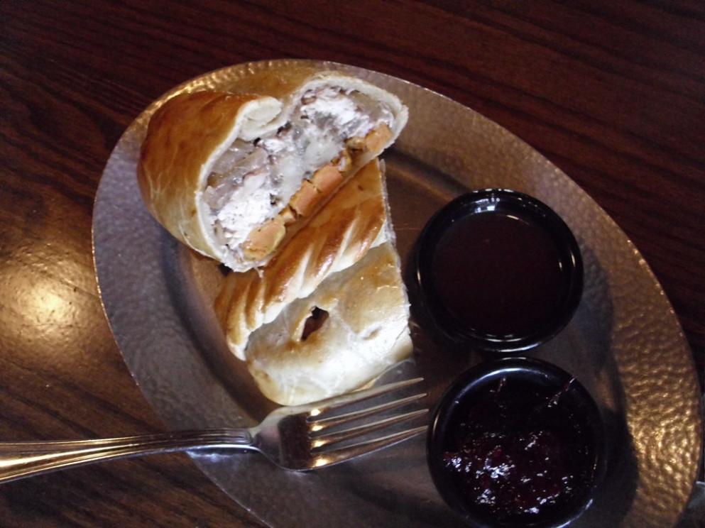 The Pilgrim Pasty, Lunch at Cornish Pasty Co Restaurant, Scottsdale, Arizona - recipes ideas for chicken breast