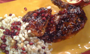The Pomegranate Inspires A Rosh Hashanah Dinner Recipe ..