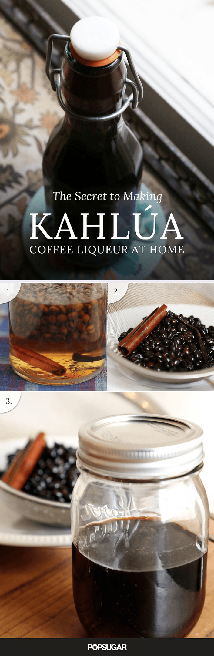 The Secret to Making Kahlúa Coffee Liqueur at Home - food recipes using kahlua