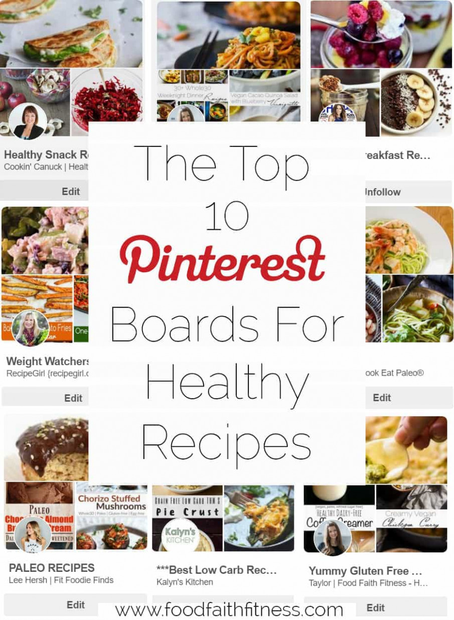The Top 10 Best Pinterest Boards for Healthy Recipes ..