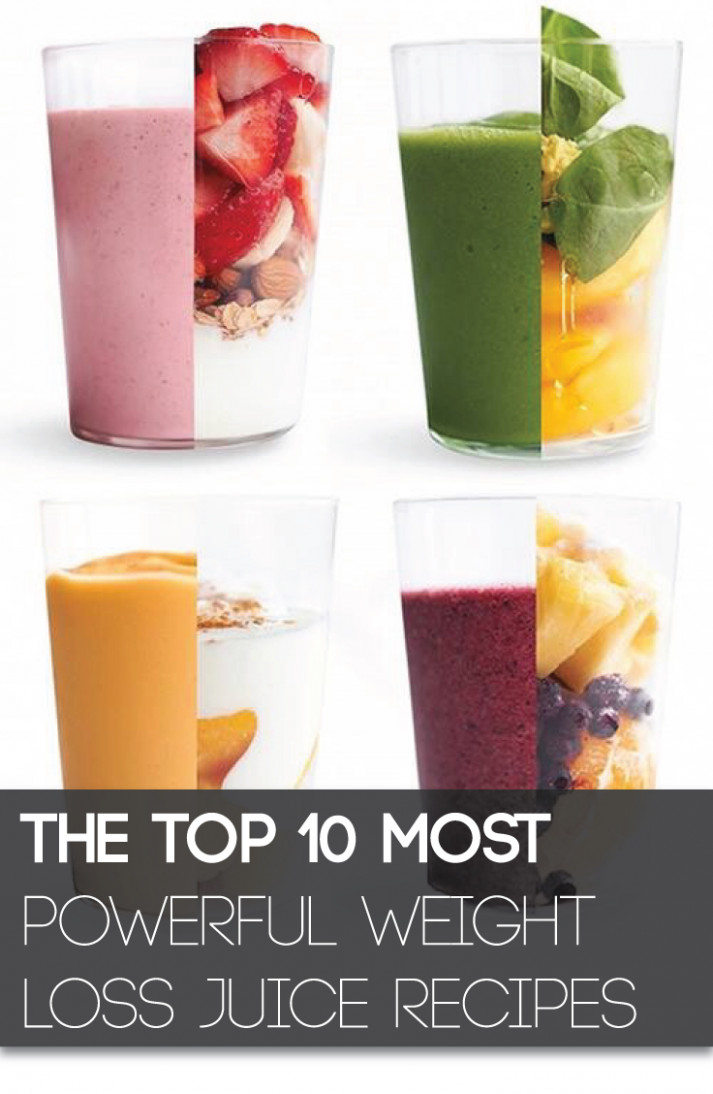 The Top 10 Most Powerful Weight Loss Juice Recipes ...