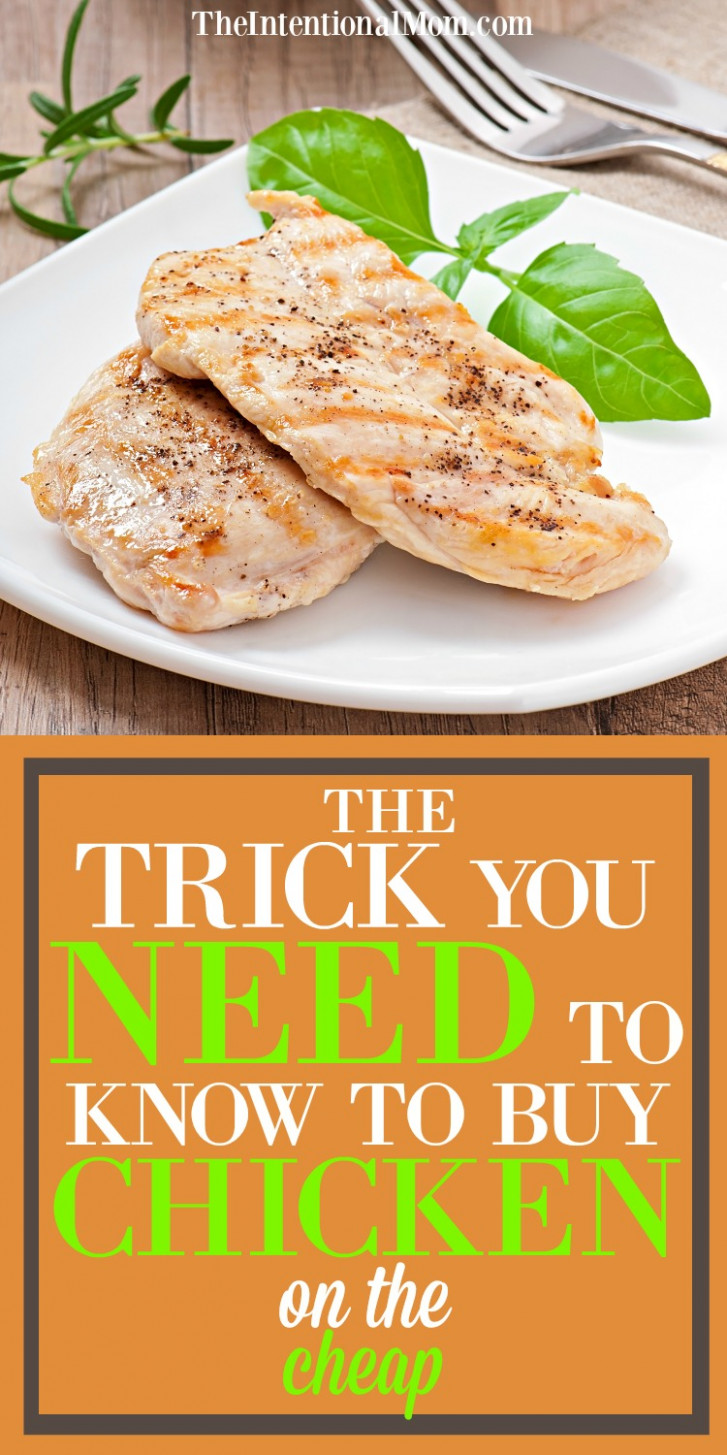 The Trick You Need to Know to Buy Chicken on the Cheap! - chicken recipes cheap