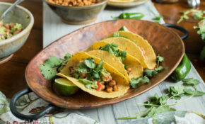 The Truly Healthy Vegetarian Cookbook And Spicy Chickpea Tacos – Healthy And Vegetarian Recipes