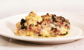 The Ultimate Breakfast For Dinner: Sausage And Spinach Egg ..