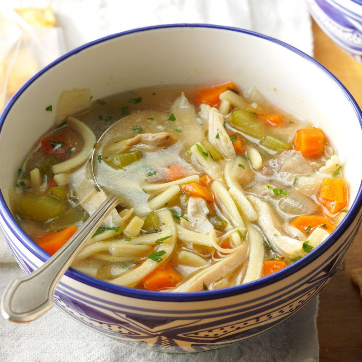 The Ultimate Chicken Noodle Soup - Recipes That Use Chicken Broth