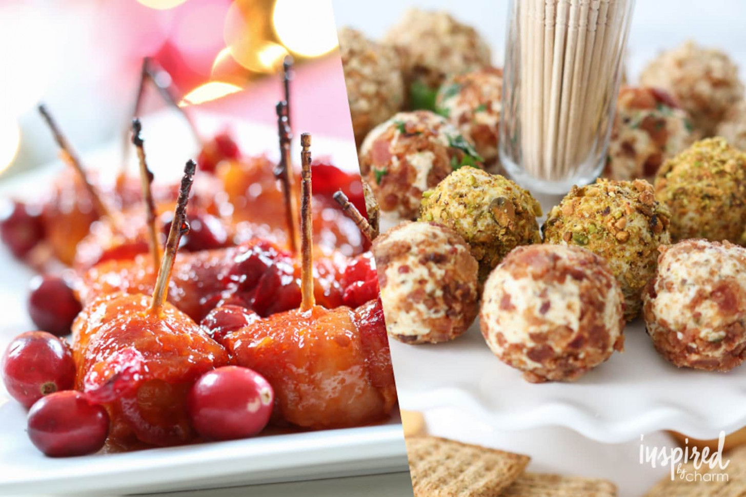 The Ultimate Christmas Appetizers - 15+ Delicious Recipes - easy finger food recipes for a crowd