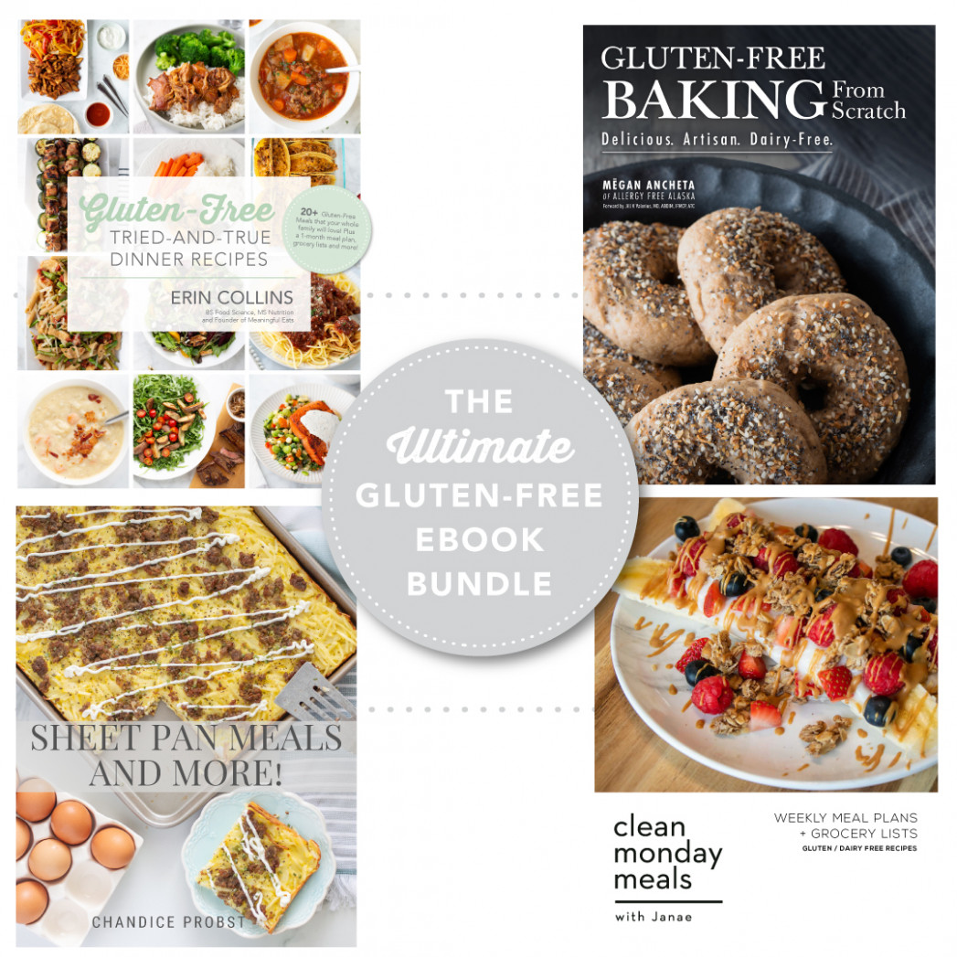 The Ultimate Gluten Free E-Book Bundle - Meaningful Eats - recipes list for dinner
