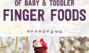 The Ultimate List Of Baby & Toddler Finger Foods – Baby Led ..