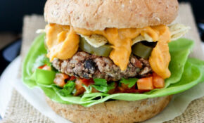 The Ultimate Mexican Nacho Burger- Veggies Don't Bite