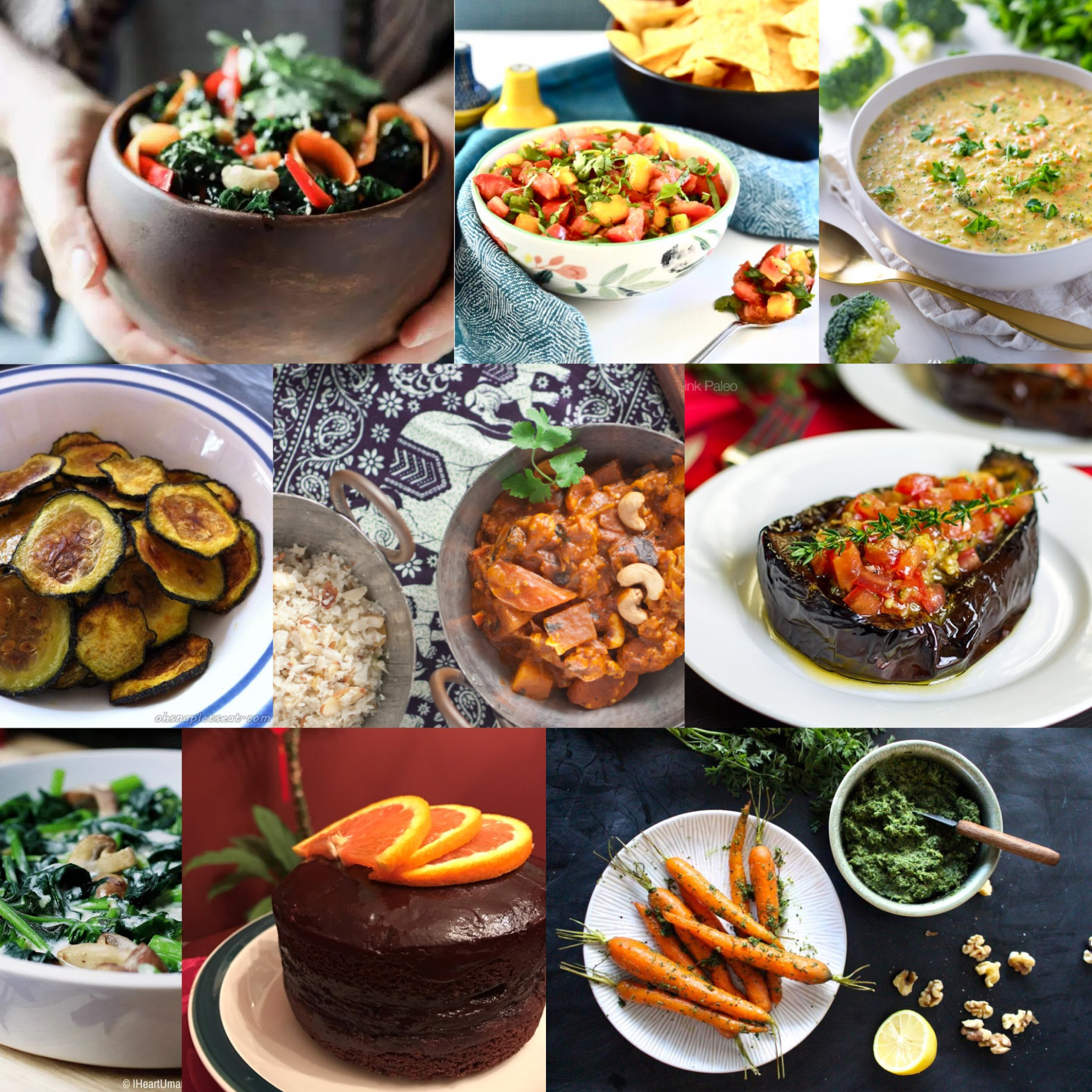 The Ultimate Paleo Vegetarian Recipes Roundup! - Oh Snap ..