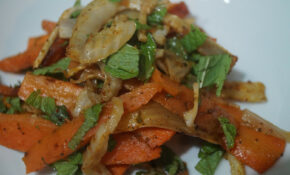 The Vegan Nigerian: BERBERE ROASTED CARROTS, FENNEL & MINT ..
