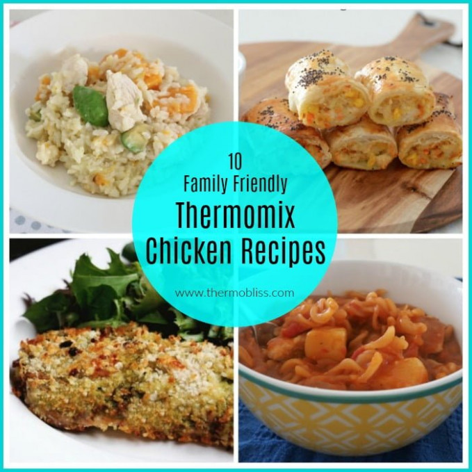 Thermomix Chicken Recipes - Thermobliss - Thermomix Recipes Chicken