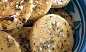 Thermomix Recipe: Za'atar Chickpea Crackers | Tenina