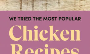 These Are The Most Popular Chicken Recipes On Pinterest – Chicken Recipes Pinterest