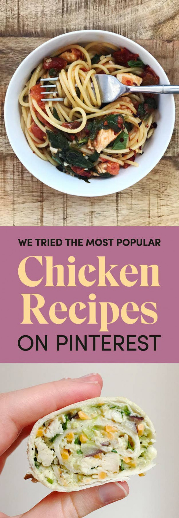 These Are The Most Popular Chicken Recipes On Pinterest - Chicken Recipes Pinterest
