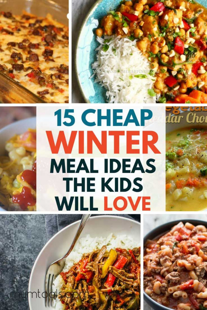 These Cheap Family Meals Will Keep Tummies Full And Cockles ..