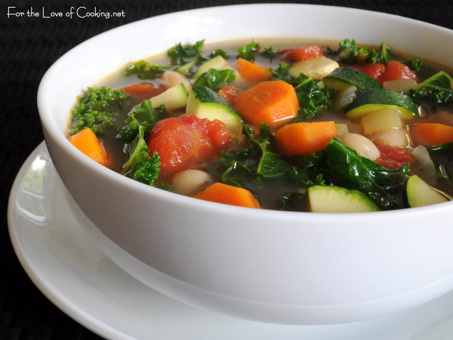 Thick Vegetable Soup Recipe — Dishmaps - Recipes For Vegetarian Soup