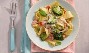 This Chicken Pappardelle Recipe Is Set To Impress Your ..