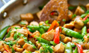 This Easy One Pan Chicken Stir Fry Skillet Is Packed With ..