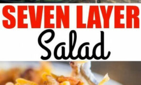 This Easy Seven Layer Salad Recipe Is A Classic Midwestern ..