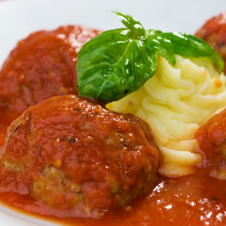 This meatball recipe uses ground turkey with some tasty ..